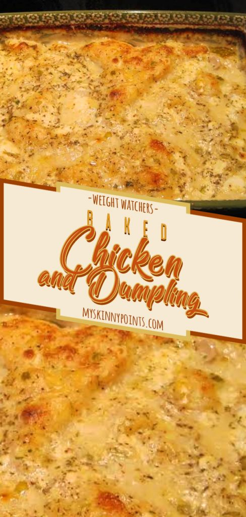 Baked Chicken and Dumpling