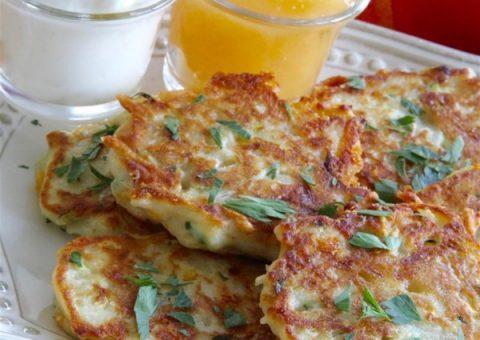 Crispy Fried Potato Cakes